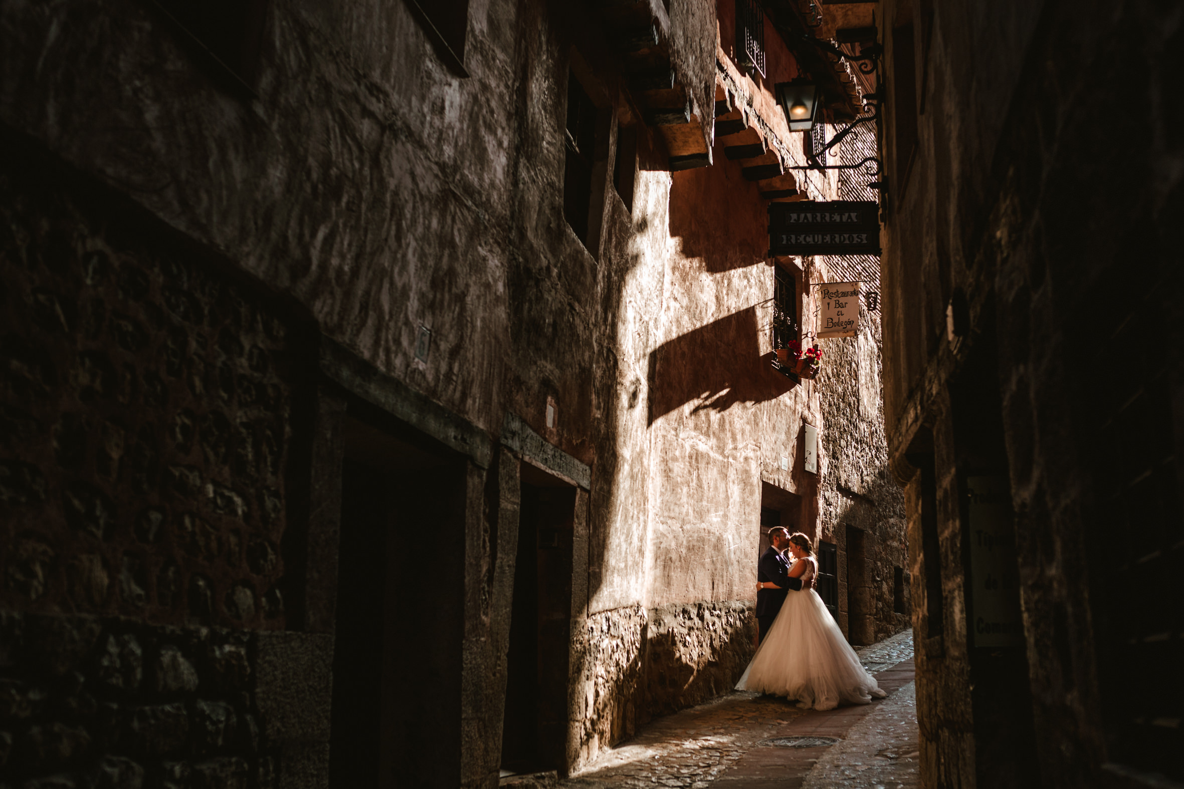 Postboda en Albarracín
